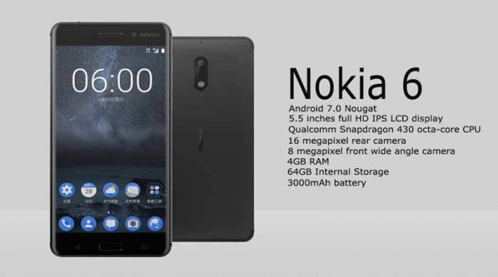 nokia 6, android one, os androih one
