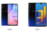 Perbedaan Vivo Y91 dengan Vivo Y95