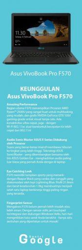 KEUNGGULAN Asus VivoBook Pro F570, asus amd nvidia dalam satu laptop - Santri Google