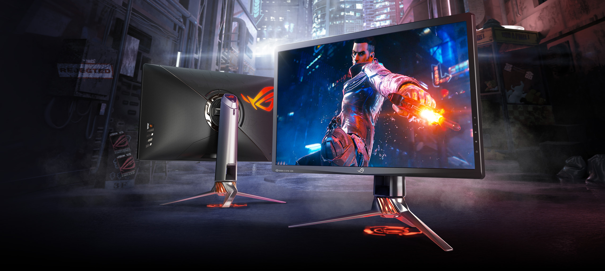 ROG Swift PG27UQ - monitor asus rog