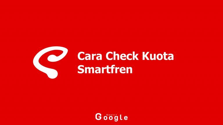 Cara Check Kuota Smartfren Yang Benar Dan Mudah Dilakukan